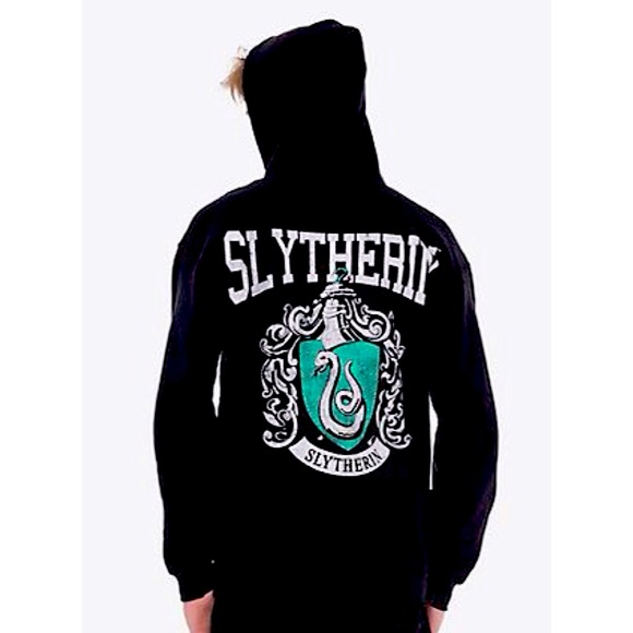SOLD Harry Potter Hogwarts Slytherin Crest Hoodie